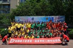 鼎力普惠第一届夏季职工趣味运动会